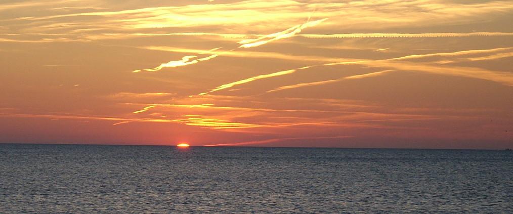 Gottes Licht strahlt auf wie die Morgensonne